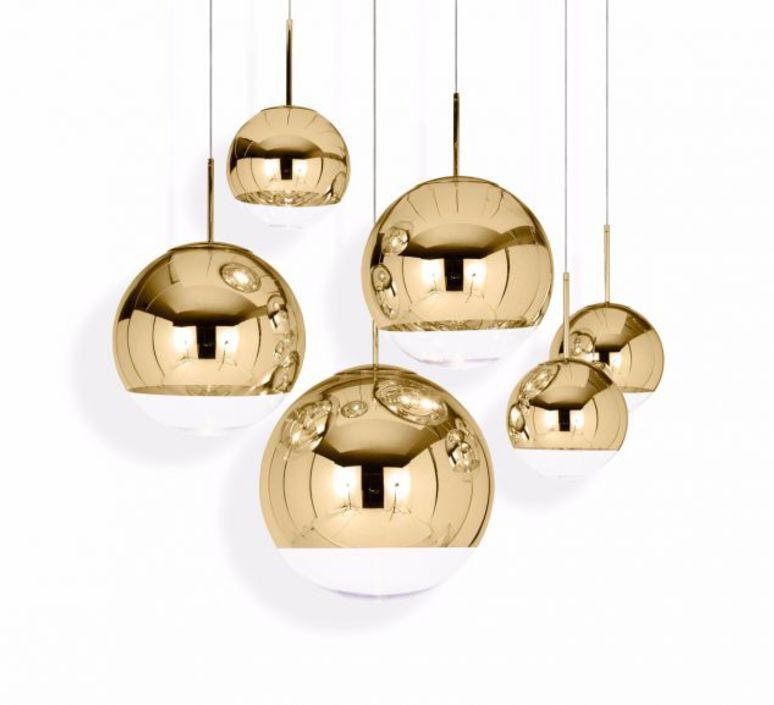 Mirror ball tom dixon suspension pendant light  tom dixon mbb40geu  design signed 48597 product