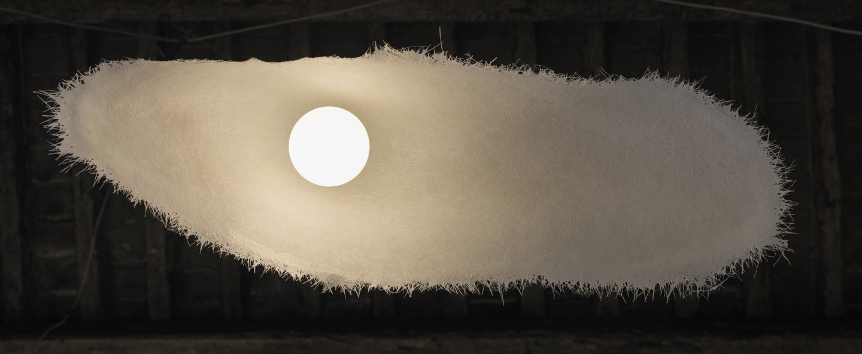 Suspension moby dick beige l150cm karman normal