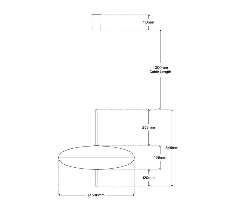 Model 2065 gino sarfatti suspension pendant light  astep t01 s31 0bww  design signed nedgis 78712 product