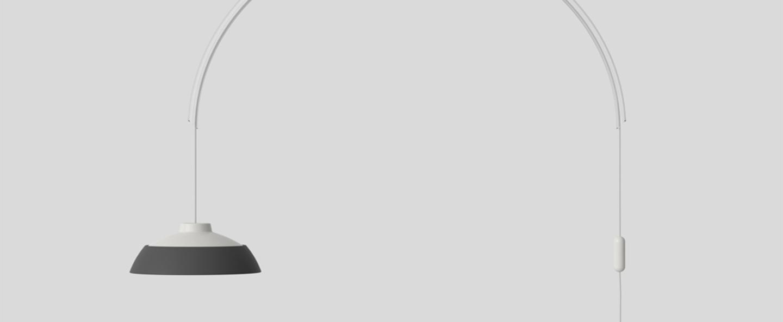 Suspension model 2129 gris blanc led 2700k 1600lm l145cm h123 5cm astep normal