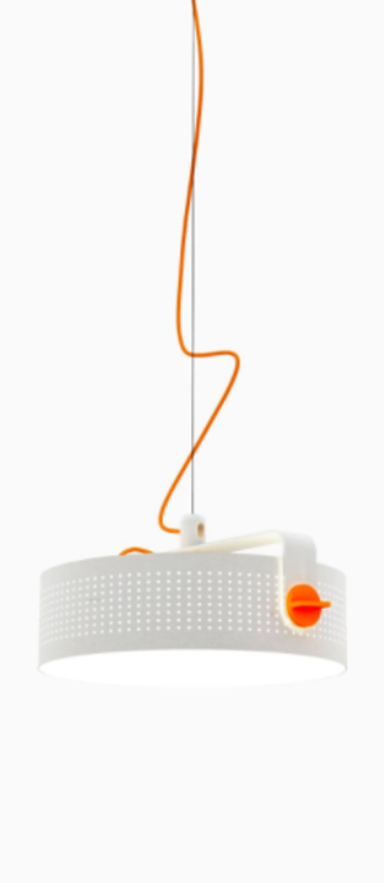 Suspension modena blanc led o41cm h16cm martinelli luce normal