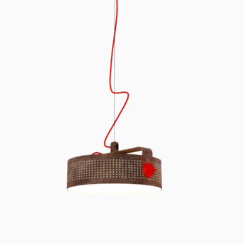 Suspension modena corten led o41cm h16cm martinelli luce normal