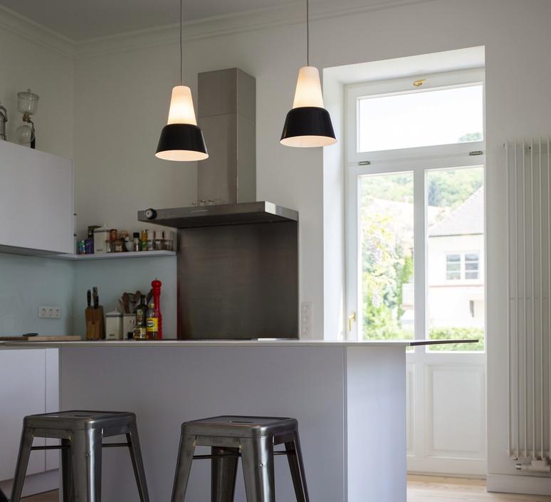 Modu lena billmeier et david baur suspension pendant light  teo t0012l gl000 bk006  design signed 33293 product
