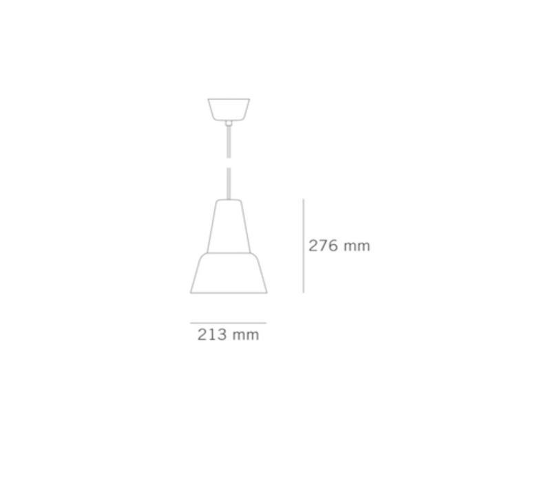 Modu lena billmeier et david baur suspension pendant light  teo t0012l gl000 bk006  design signed 33295 product