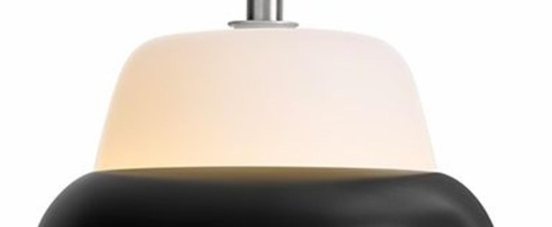 Suspension modu noir o21cm h16 6cm teo normal