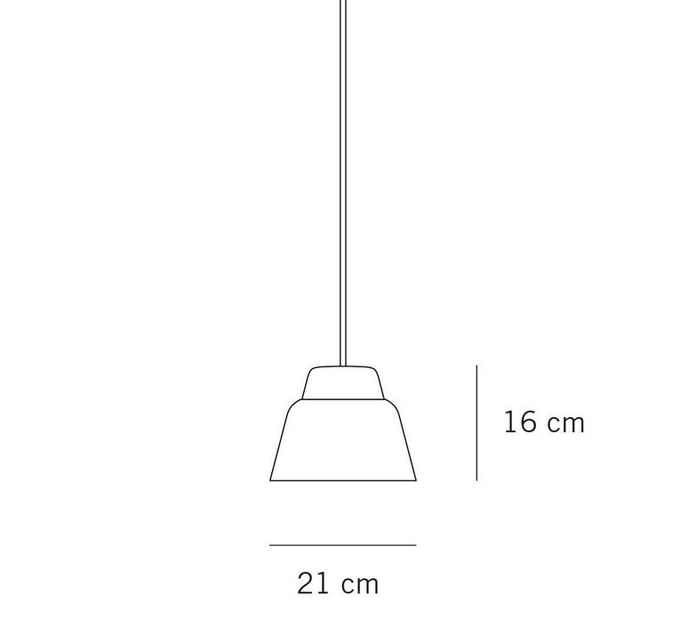 Modu lena billmeier et david baur suspension pendant light  teo t0012s gl000 cgr007  design signed 107923 product