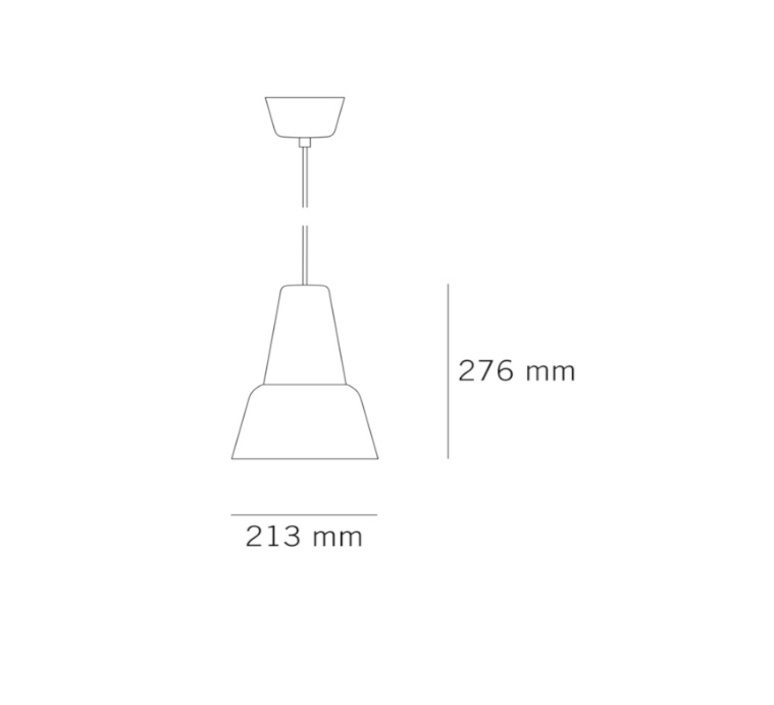 Modu lena billmeier et david baur suspension pendant light  teo t0012l gd000 lg558  design signed 33305 product
