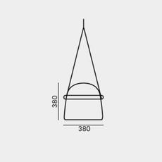 Mona large lucie koldova suspension pendant light  brokis pc938 cgc516 ccs592 ccsc619 gint792 cls1942 ceb1992 cedv1457  design signed 50868 thumb