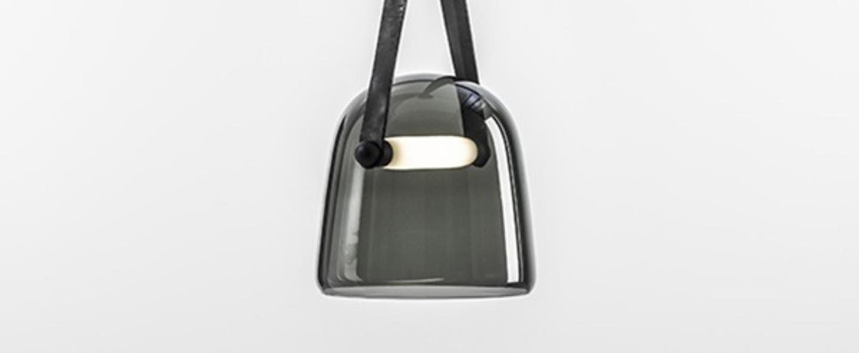 Suspension mona medium noir led o27cm h26cm brokis normal