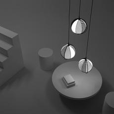 Mondo antonio facco suspension pendant light  oblure afmo2003  design signed 89646 thumb