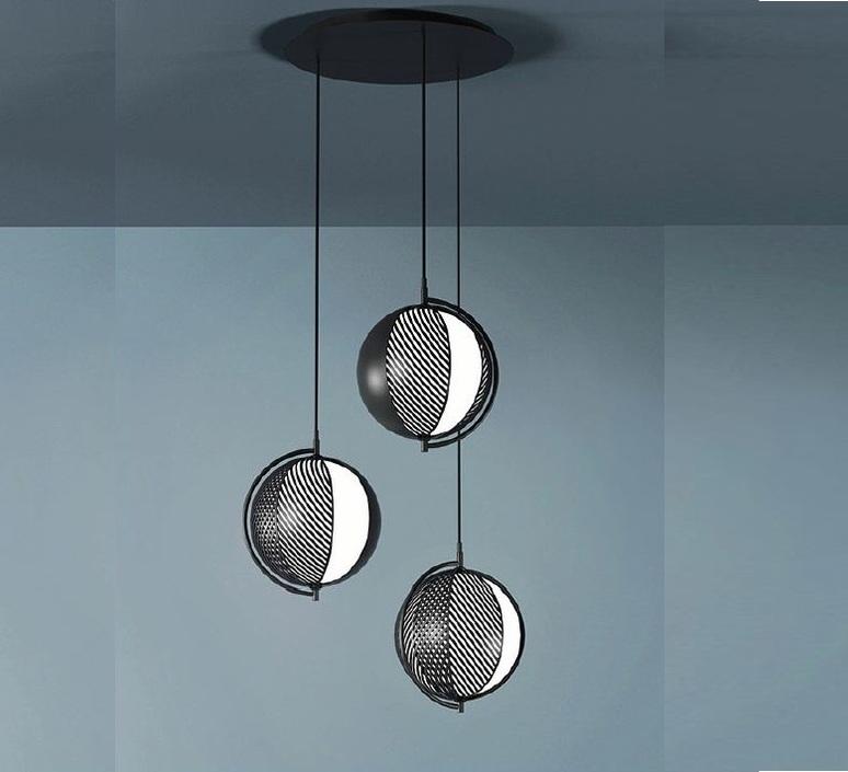 Mondo antonio facco suspension pendant light  oblure afmo2003  design signed 89647 product