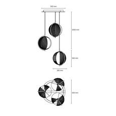 Mondo antonio facco suspension pendant light  oblure afmo2003  design signed 89649 thumb