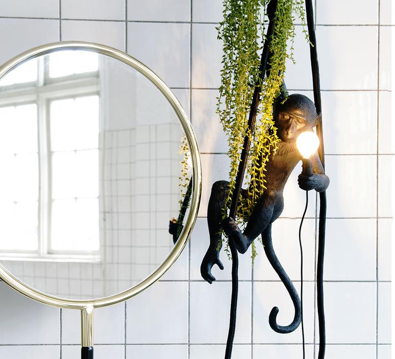 Monkey standing marcantonio raimondi malerba seletti 14880 luminaire lighting design signed 34128 product