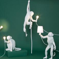 Monkey with rope marcantonio raimondi malerba suspension pendant light  seletti monkey14883  design signed 40600 thumb