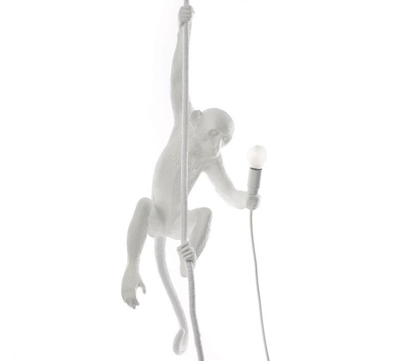 Monkey with rope marcantonio raimondi malerba suspension pendant light  seletti monkey14883  design signed 40602 product