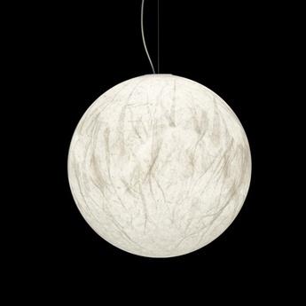 Suspension moon 60 blanc led 2700k 1521lm o60cm h60cm davide groppi normal