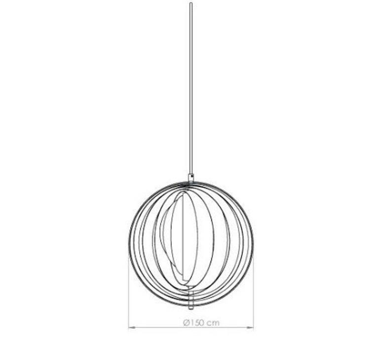 Moon xxxl verner panton suspension pendant light  verpan 1192001001006000000  design signed nedgis 89333 product