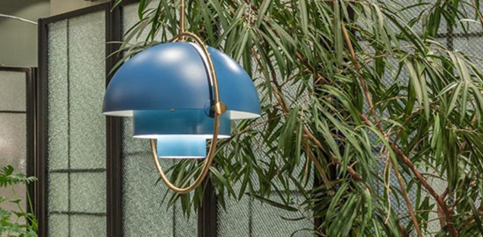 Suspension multi lite bleu nordique o36cm h36cm gubi normal