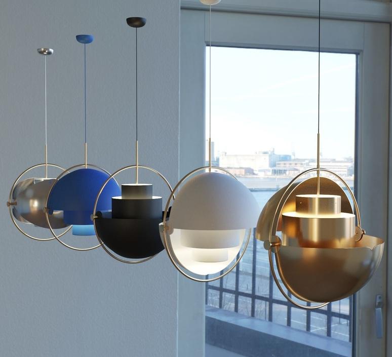Multi lite louis weisdorf suspension pendant light  gubi 10014450  design signed nedgis 77610 product