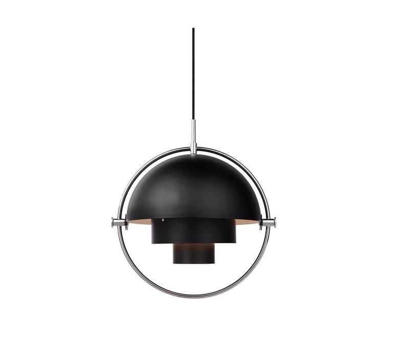 Multi lite small louis weisdorf suspension pendant light  gubi multilite small bl ch  design signed nedgis 86169 product