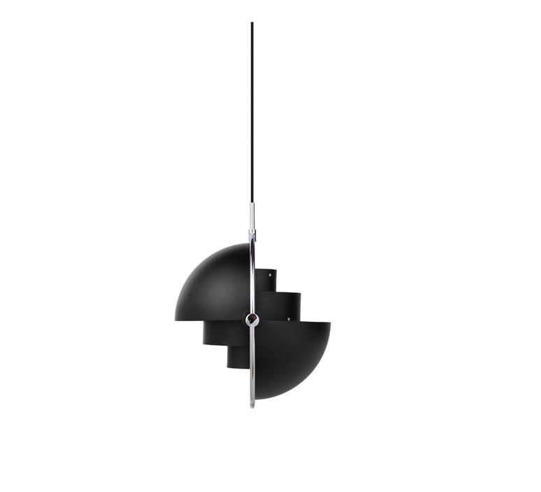 Multi lite small louis weisdorf suspension pendant light  gubi multilite small bl ch  design signed nedgis 86170 product