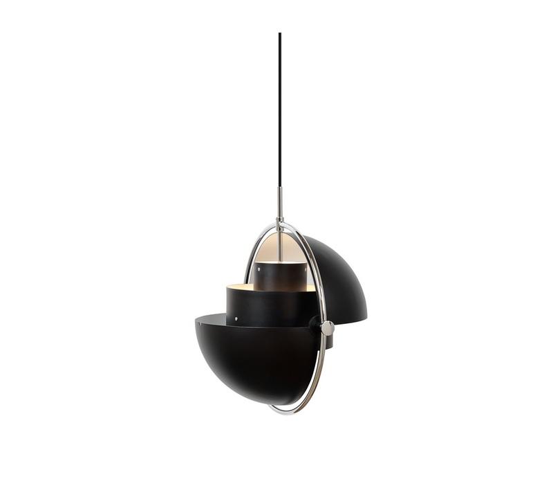 Multi lite small louis weisdorf suspension pendant light  gubi multilite small bl ch  design signed nedgis 86171 product