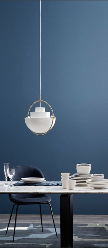 Suspension multi lite pendant brass white blanc o36cm h36cm gubi normal
