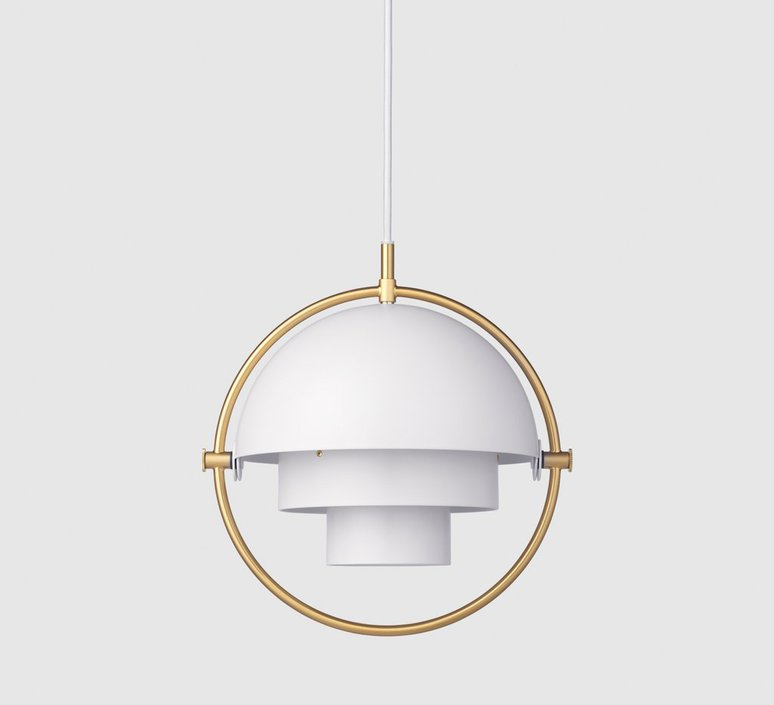 Multi lite small louis weisdorf suspension pendant light  gubi multilite small wh br  design signed nedgis 78338 product