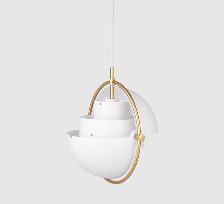 Multi lite small louis weisdorf suspension pendant light  gubi multilite small wh br  design signed nedgis 78340 product