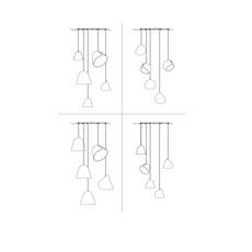 Multiple 5 jjoo suspension pendant light  nyta multiple5  design signed 46380 thumb
