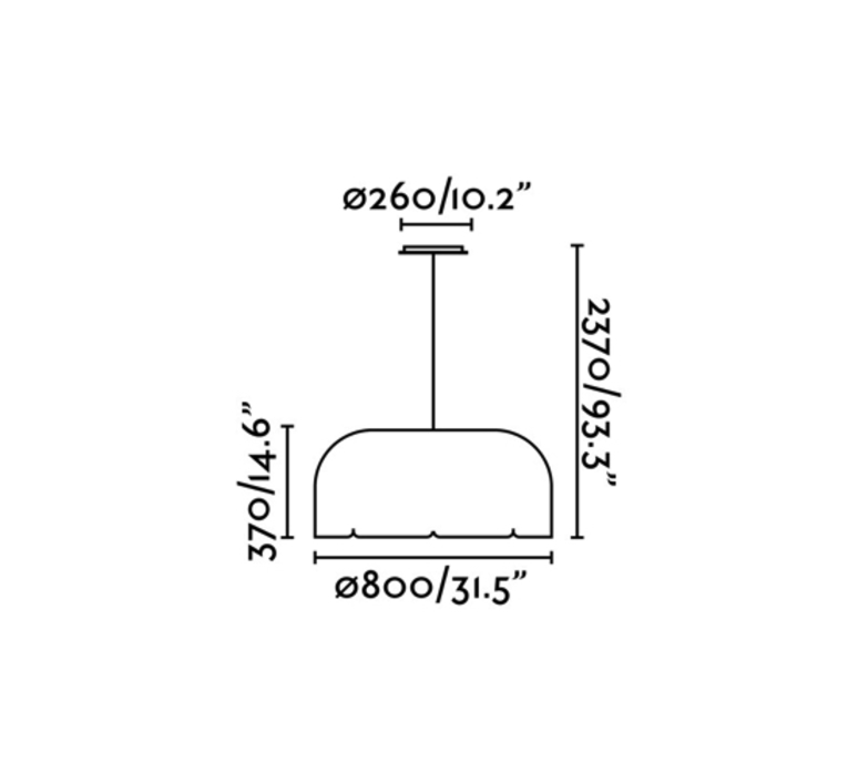 Mute nahtrang design suspension pendant light  faro 20101  design signed 40321 product