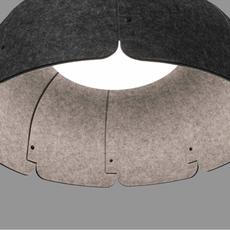 Mute nahtrang design suspension pendant light  faro 20101  design signed 40323 thumb