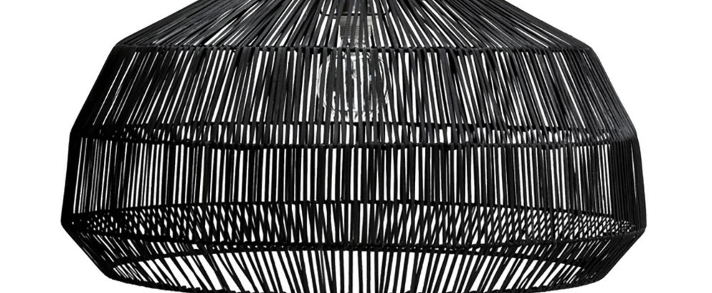 Suspension nama 1 noir o72cm h36 5cm ay illuminate normal