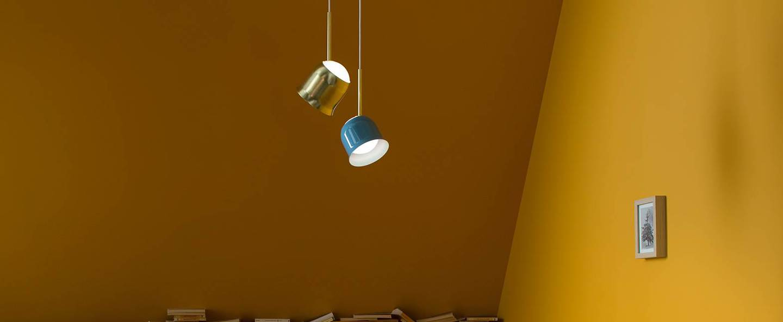 Suspension narciso bleu o13 5cm h150cm torremato normal