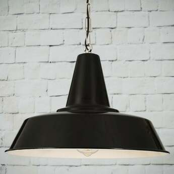 Suspension nassau noir o39cm h27 5cm mullan lighting normal