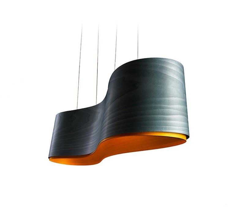 Gea s marivi calvo suspension pendant light  lzf dark gea s 22  design signed 31433 product