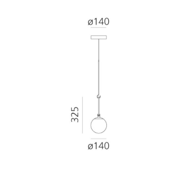 Patroclo gae aulenti suspension pendant light  artemide 0060010a  design signed nedgis 75633 product