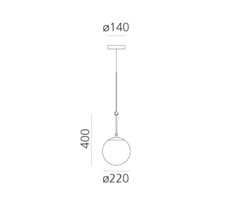 Mezzachimera s vico magistretti suspension pendant light  artemide 0055010a  design signed nedgis 75630 product