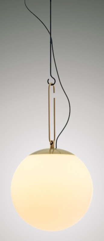 Suspension nh 35 laiton o35cm h61 5cm artemide normal