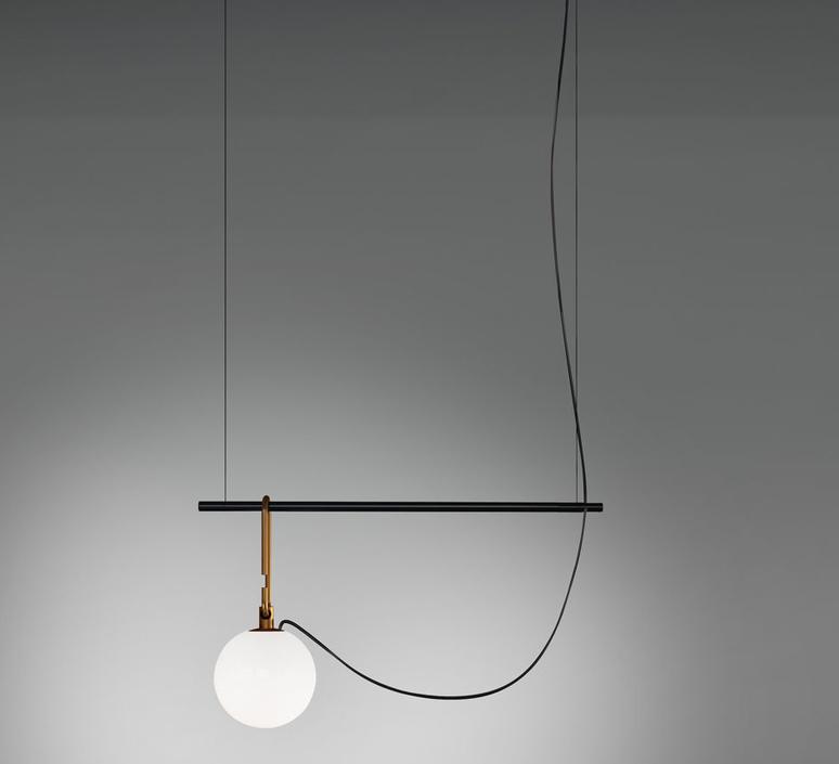 Nh s1 neri et hu suspension pendant light  artemide 1272010a  design signed 60783 product