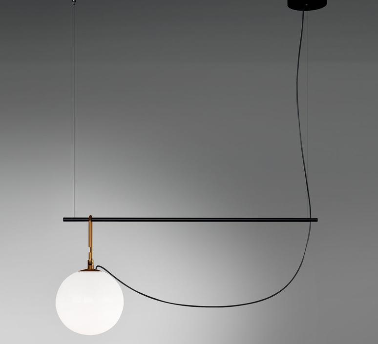 Nh s1 neri et hu suspension pendant light  artemide 1273010a  design signed 60796 product