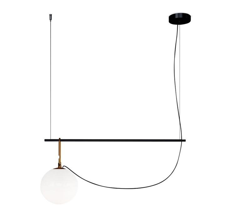 Nh s1 neri et hu suspension pendant light  artemide 1273010a  design signed 60797 product