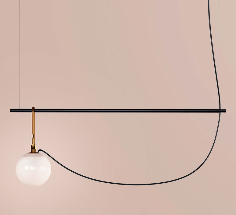 Nh s2 neri et hu suspension pendant light  artemide 1274010a  design signed 60787 product