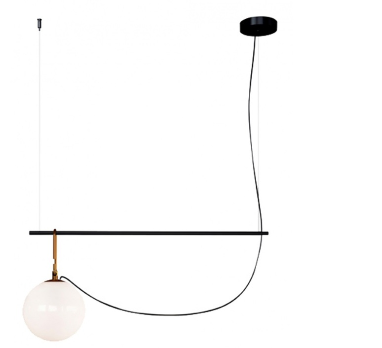 Nh s2 neri et hu suspension pendant light  artemide 1275010a  design signed 60800 product