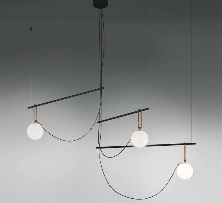 Nh s3 neri et hu suspension pendant light  artemide 1276010a  design signed 60792 product