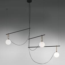 Nh s3 neri et hu suspension pendant light  artemide 1276010a  design signed 60792 thumb