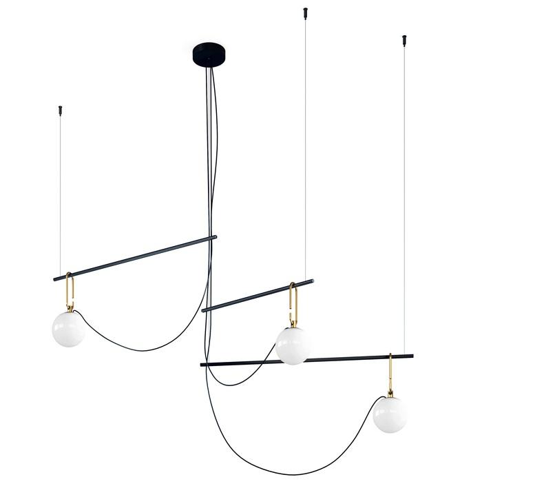 Nh s3 neri et hu suspension pendant light  artemide 1276010a  design signed 60793 product