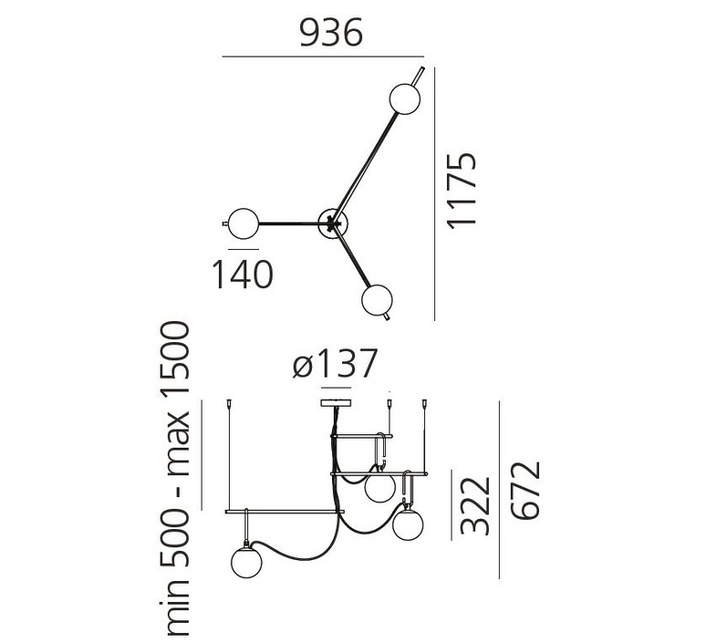 Nh s3 neri et hu suspension pendant light  artemide 1276010a  design signed 60794 product
