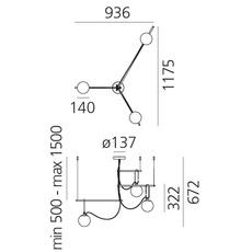 Nh s3 neri et hu suspension pendant light  artemide 1276010a  design signed 60794 thumb
