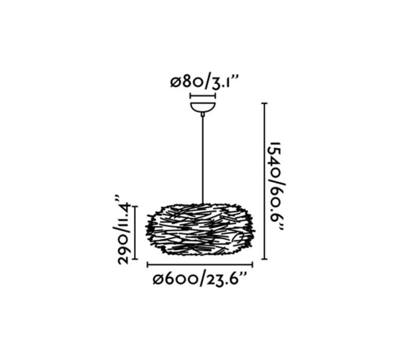 Nido estudi ribaudi suspension pendant light  faro 68153  design signed 40339 product